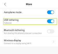How USB tethering helps us?
