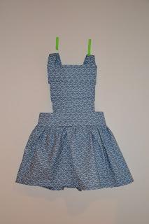kleedje, naaien, strik, eigen patroon