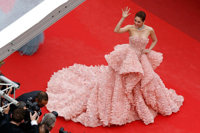 Best of 2016 Cannes Celebrity Red Carpet Dresses