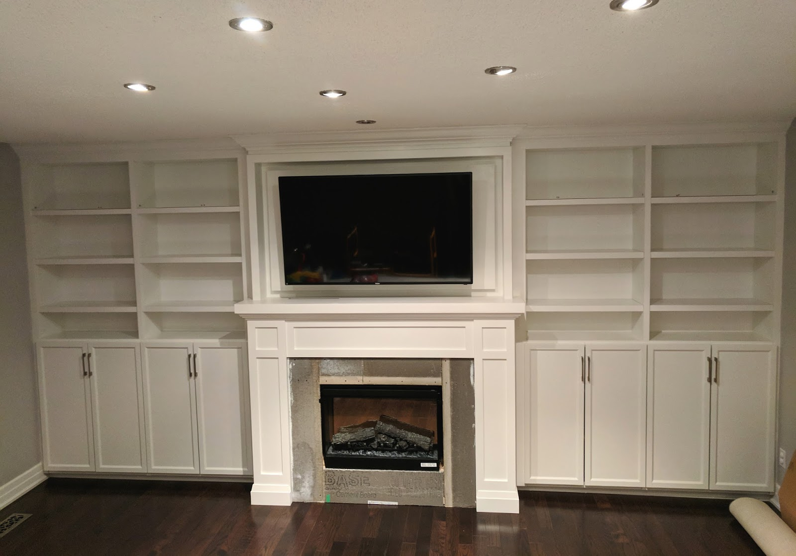 bookcases hack off a show door with doors bookcase can cabinet bookshelf you billy ikea glass