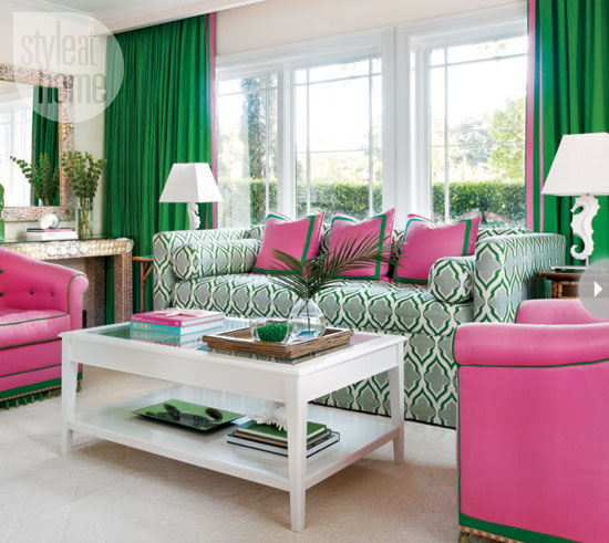 Palm Beach Chic In Miami: Light Living Interior Design: Interior: Tropical And