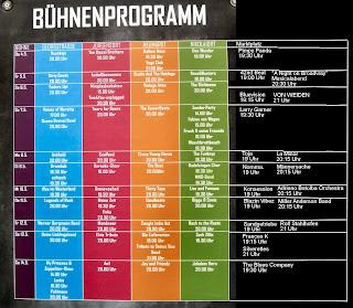 Maiwoche Osnabrück 2017 Bühnen-Programm Georgstraße Jürgensort Neumarkt Nikolaiort Marktplatz
