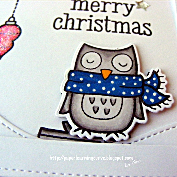 Paper Learning Curve- Grá O'Neill: Lawn Fawn Winter Owl, Winter Gifts, Joy to the Woods, Peace Love Joy