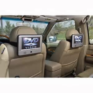Pilihan lain yang menjadi hiburan di mobil termasuk juga flip-down TV dan pemutar DVD, DVD audio, DVD Video dan portabel dan pemutar DVD in-dash.