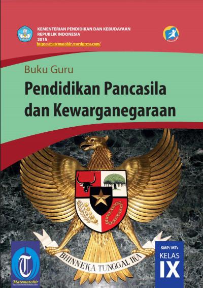 Download Buku Guru Kurikulum 2013 SMP MTs Kelas 9 Mata Pelajaran PPKn
