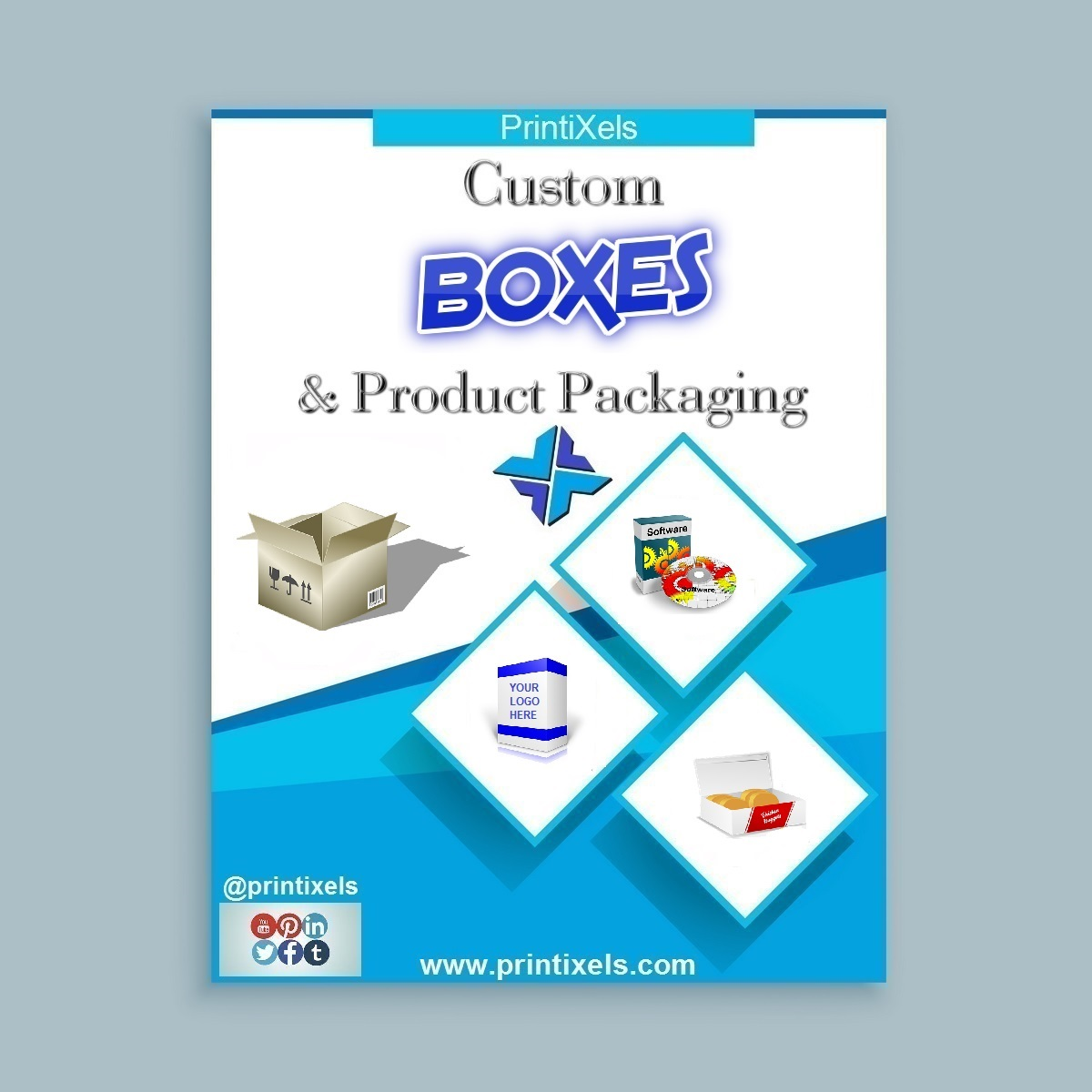 Custom Boxes and Product Packaging