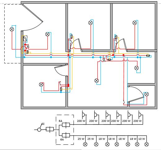 Instalasi listrik anam gambar 1 contoh instalasi listrik rumah tinggal ccuart Choice Image
