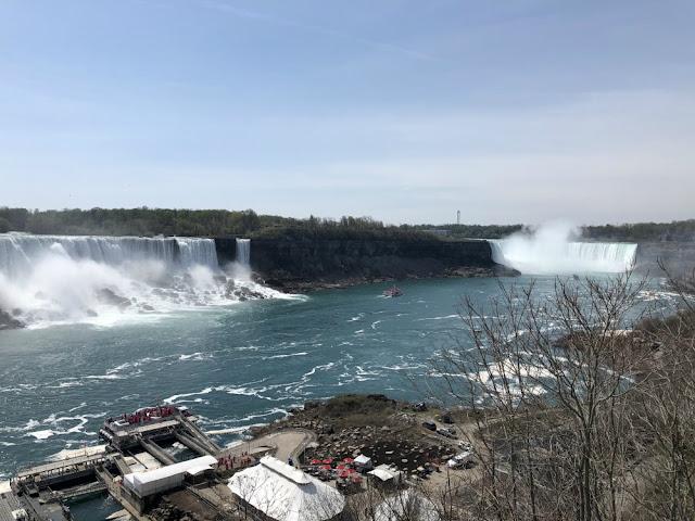 Roteiro 18 dias de trem pelo leste do Canadá - Niagara Falls