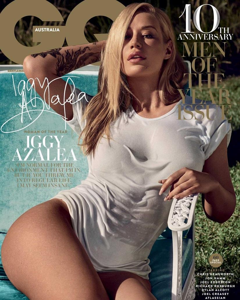 Iggy Azalea looks HOT in sexy magazine cover shoot