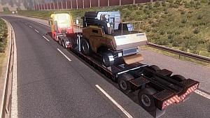 Combine trailer