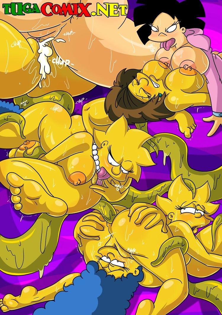 Os simpsons hentai - Entrando no multiverso