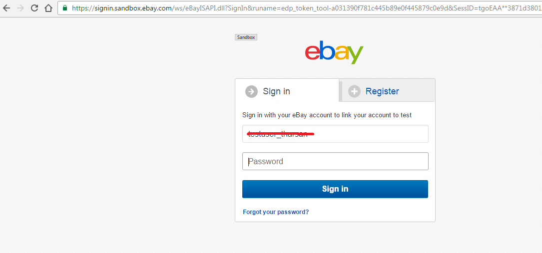 Tharsan S Blog Ebay Api Step By Step Process To Get Auth Token