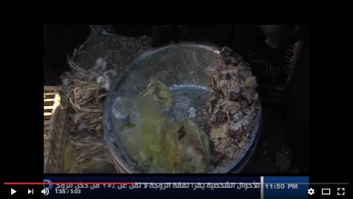 """بالفيديو- بسبب غلاء الاسعار المصريين يتجهون الى اسواق كسر المصانع """"بقايا الطعام"""" التي تشكل خطر كبير على حياتهم"""