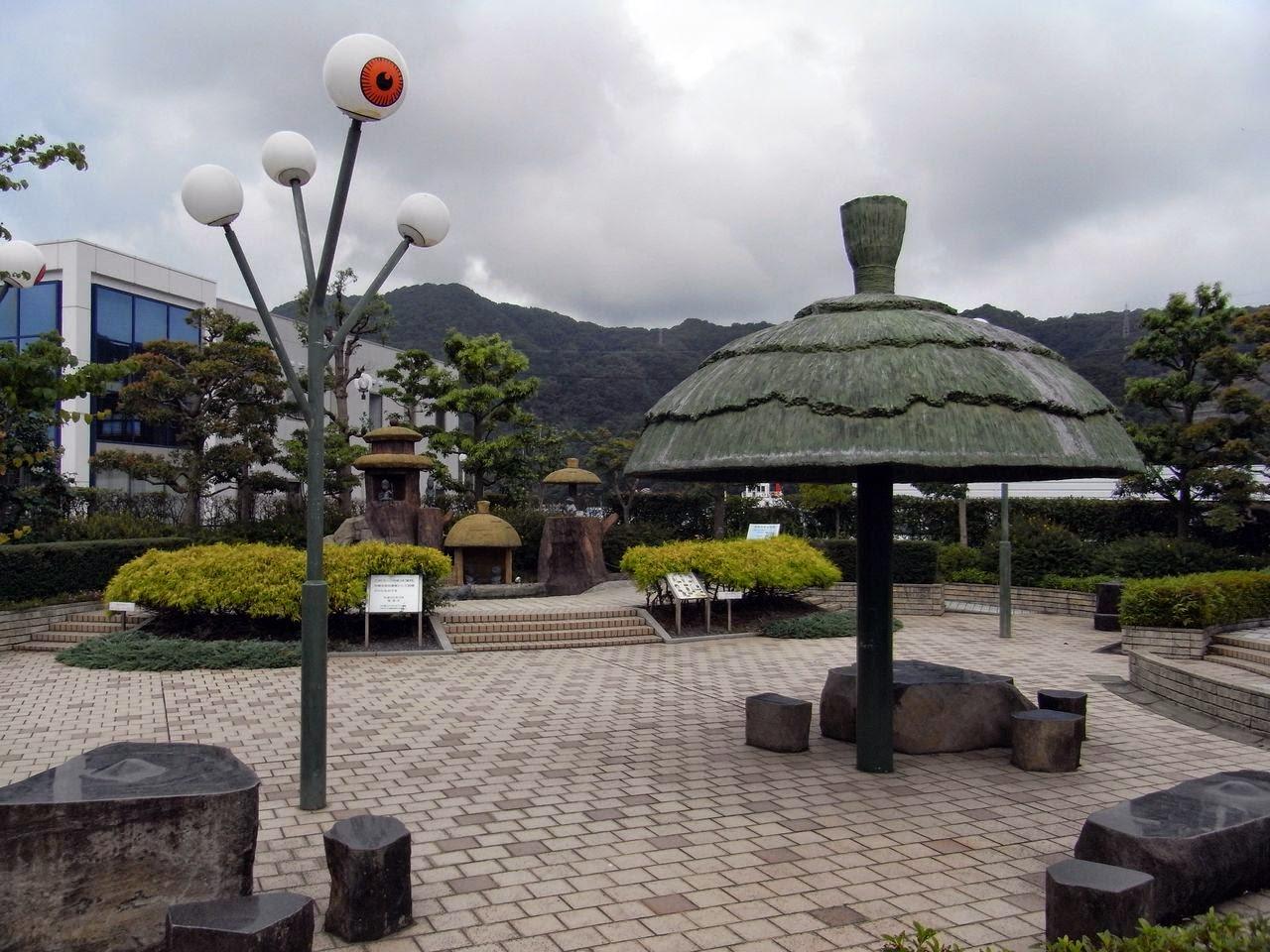 河童の泉広場(鳥取県境港市)