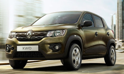 2016 Renault Kwid 1.0 MT left side front look;;