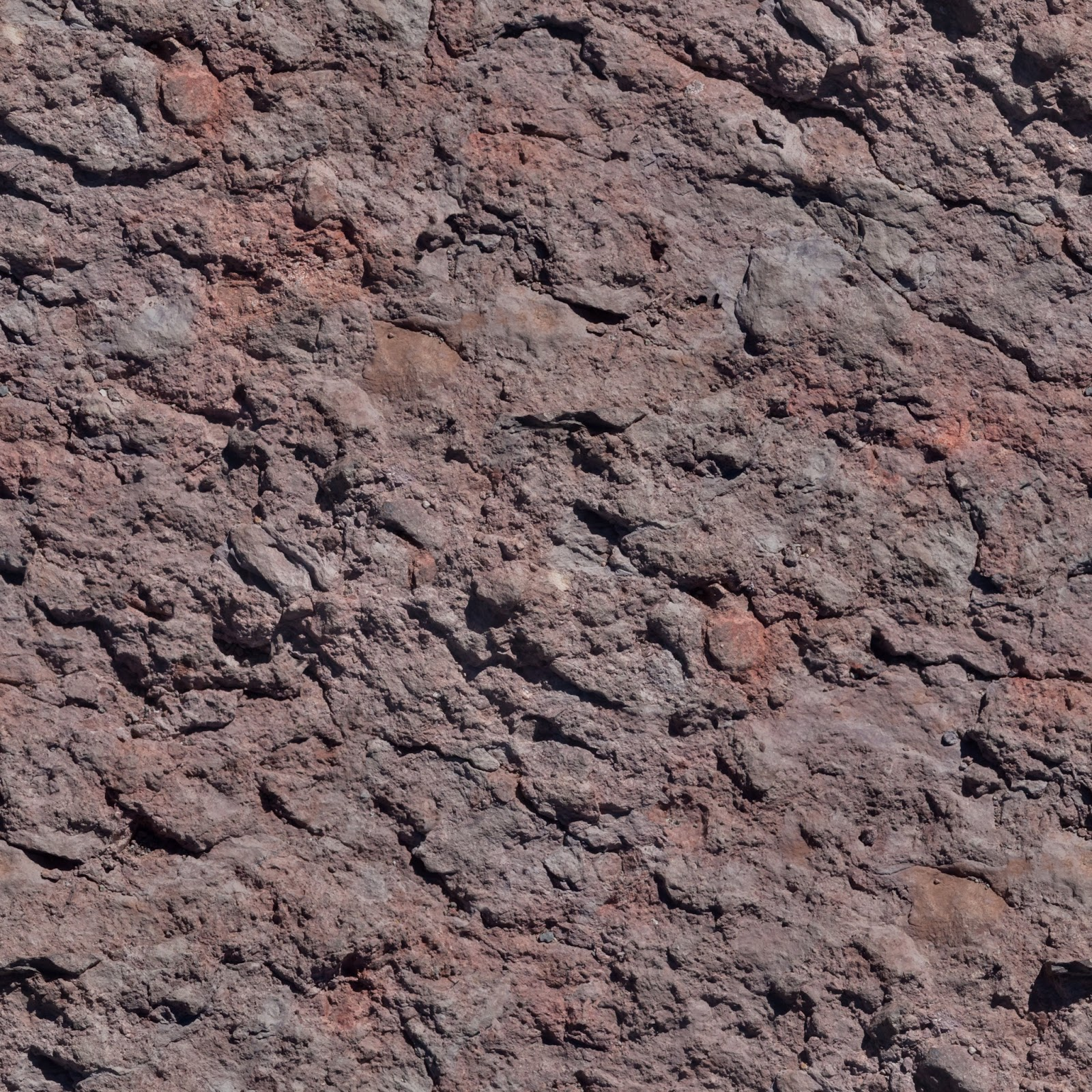 High Resolution Seamless Textures: Orange rock face texture