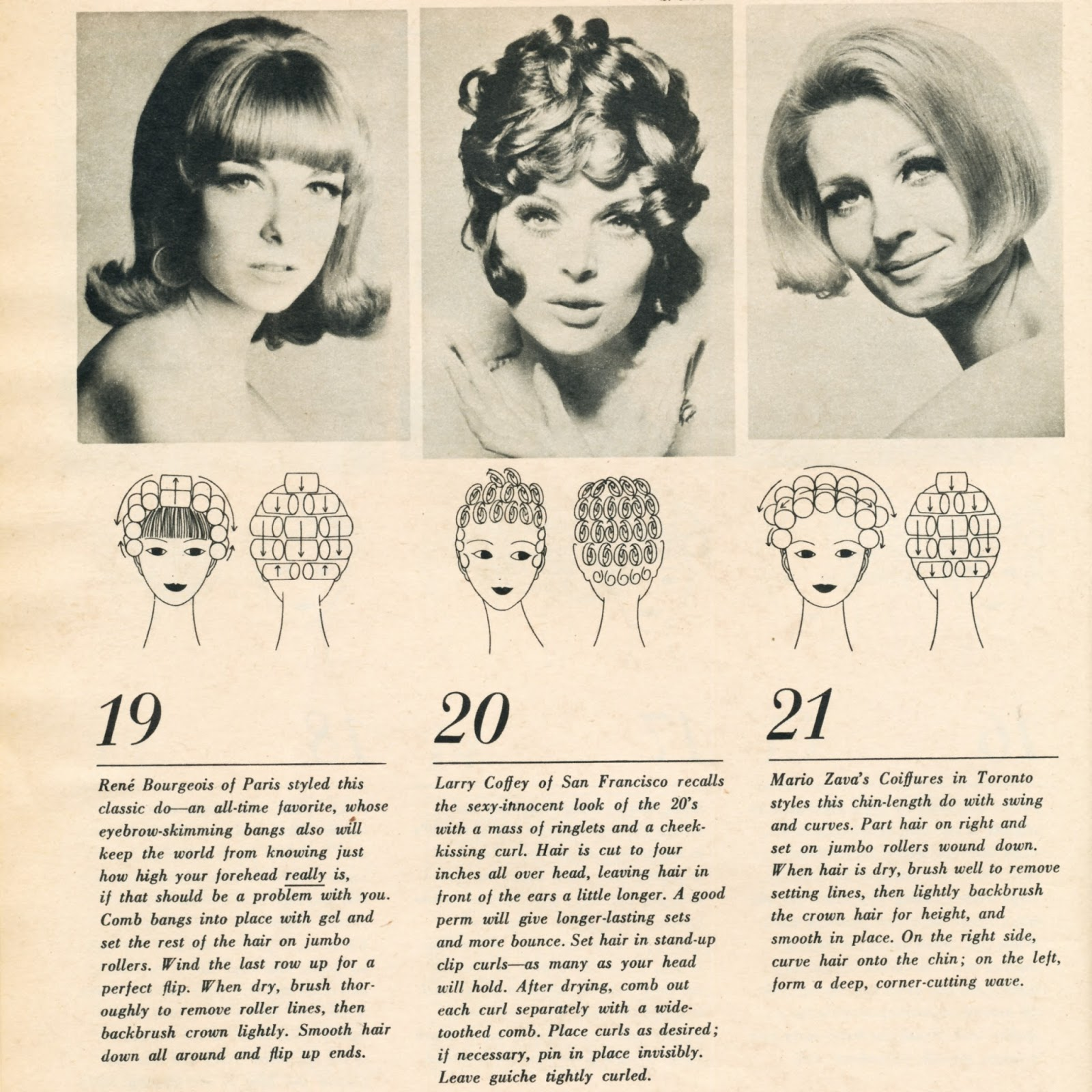 70s hair rollers