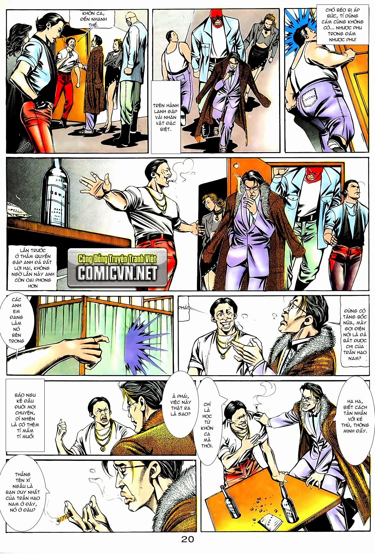 Người Trong Giang Hồ chapter 84: đỗ vương hạ tân trang 23