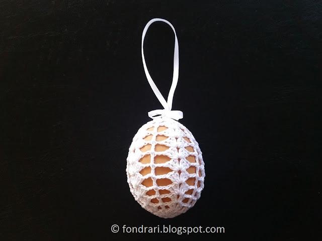 Crochet Easter Egg - free pattern