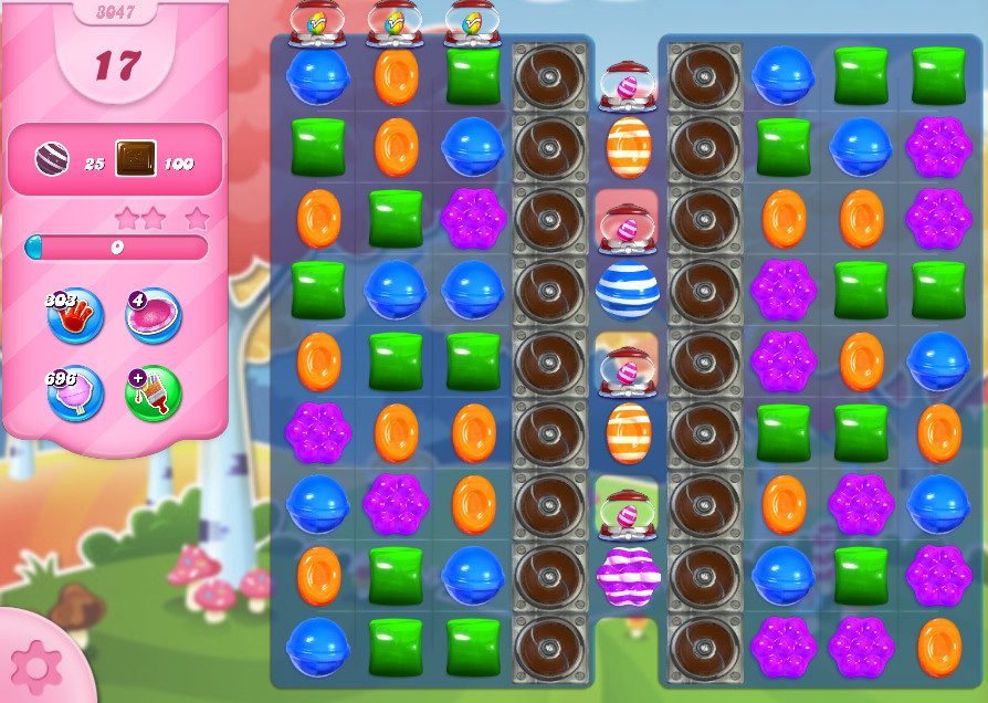 Candy Crush Saga level 3047