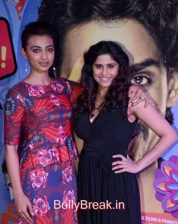 Radhika Apte, Sai Thamhnkar, Ragini Khanna, Radhika Apte Hunterr Movie Premiere Pics