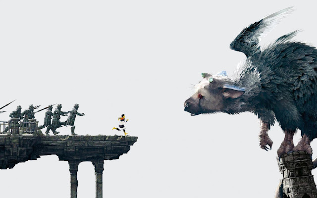 The Last Guardian combate