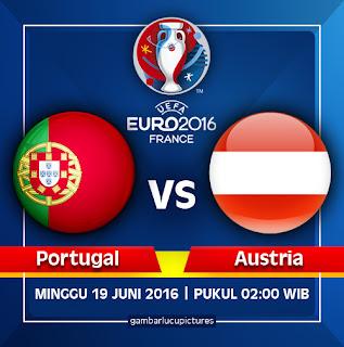 Jadwal euro 2016 portugal vs austria