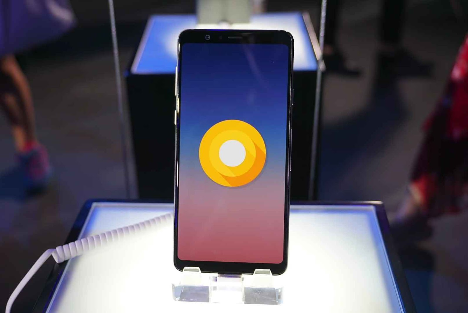 The Samsung Galaxy A9 Star Android Oreo