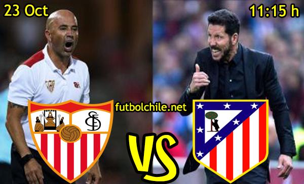 Ver stream hd youtube facebook movil android ios iphone table ipad windows mac linux resultado en vivo, online: Sevilla vs Atlético Madrid
