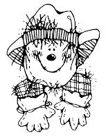 The Polka Dot Patch: Scarecrow Fun