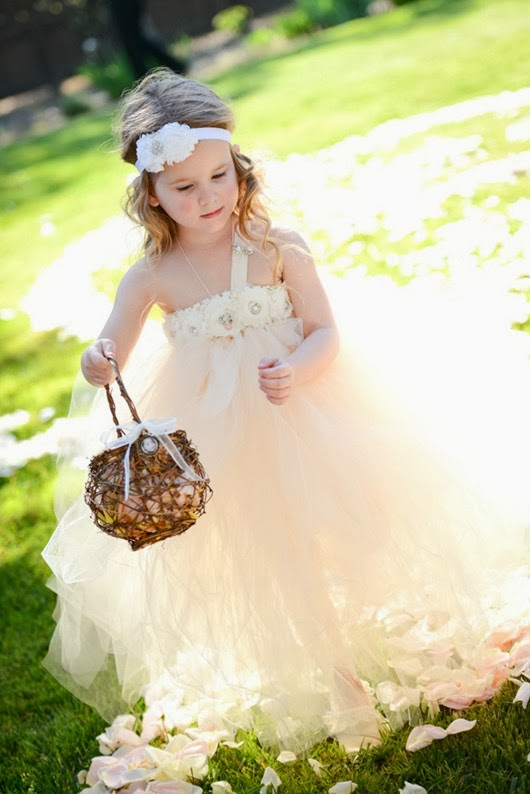 wedding flower girl ideas dresses and basket