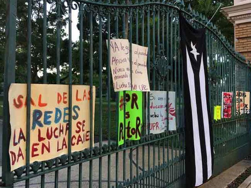 Paralizada la Universidad de Puerto Rico en medio de tensión