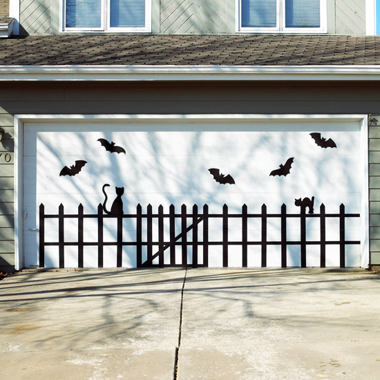 54 Cool Garage Door Design Ideas Pictures: Life. Family. Love.: 155 Halloween Crafts, Treats, And