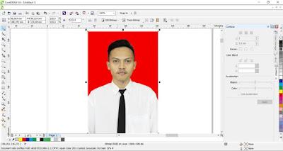 Memasukan Foto ke Lembar Kerja CorelDRAW