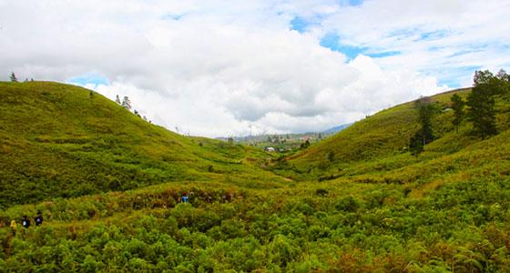 bukik cambai objek wisata alam di kabupaten solok