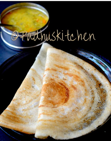crispy dosa with sambar