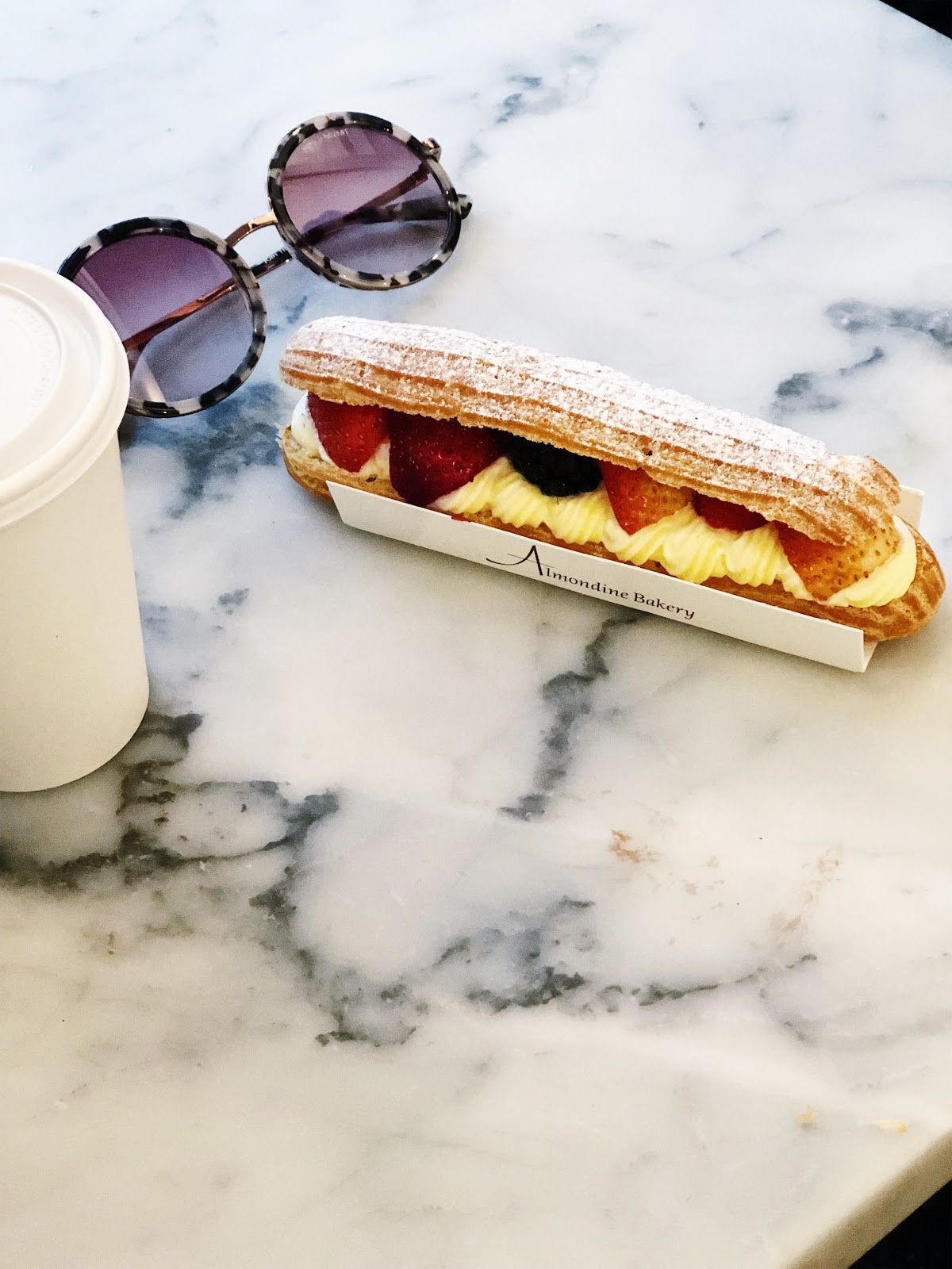 Berry Eclair from Almondine Bakery in Brooklyn How to Travel with Foodies