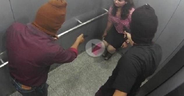 KEJAM ! Kerana Tak Sanggup Ditembak, Gadis Ini Sanggup 'GADAI MARUAH' Di Dalam Lift, Semuanya Sempat Dirakam CCTV
