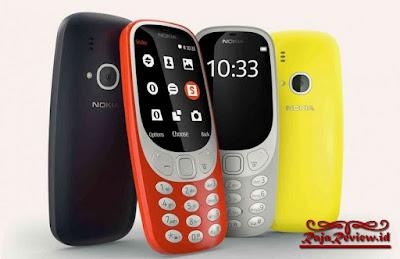 Nokia 3310 New, Nokia 3310 Terbaru, Nokia 3310 Harga