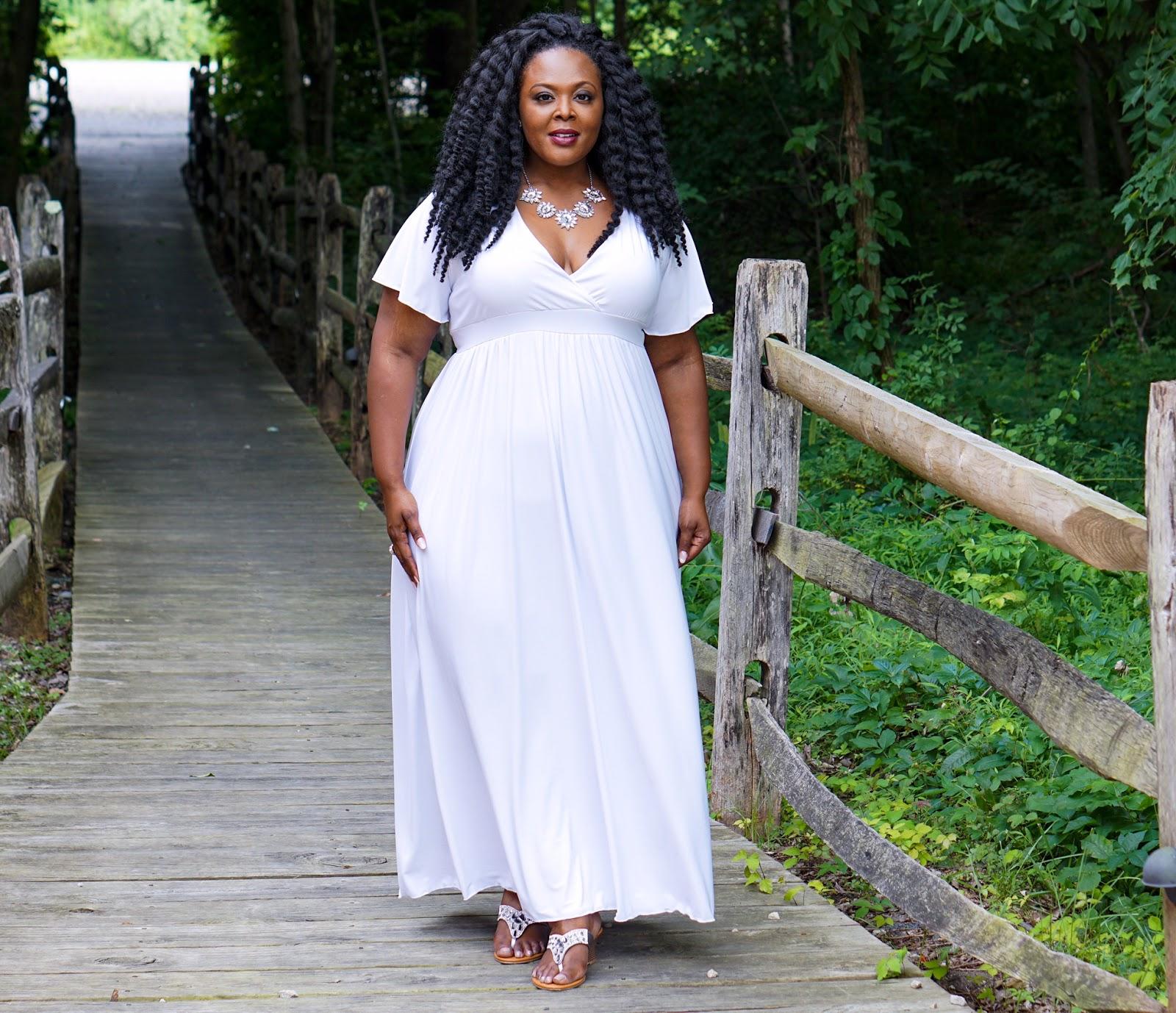 plus size white dress, white plus size maxi dress, swak designs maxi dress, swak white maxidress