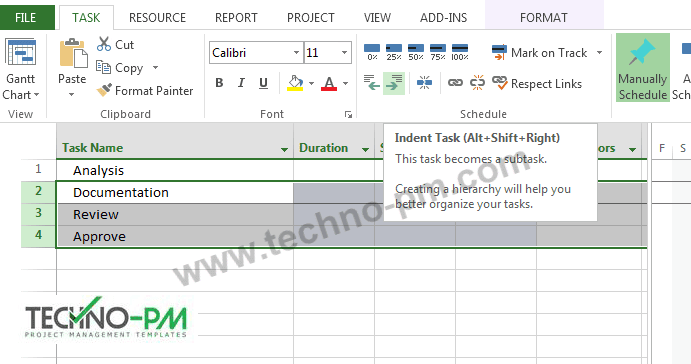 Sample Microsoft Project Plans Ms Plan