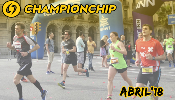 Lliga Championchip 2018 - Abril