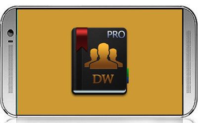 تحميل تطبيق إدارة الأسماء جهات الاتصال الهاتف dw contacts & phone