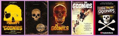 portadas de la novela juvenil de aventuras Los goonies