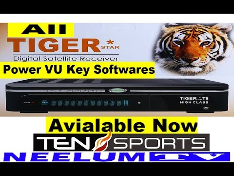 TIGER 2200 2018 HD RECEIVER AUTO ROLL PowerVU KEY NEW Download