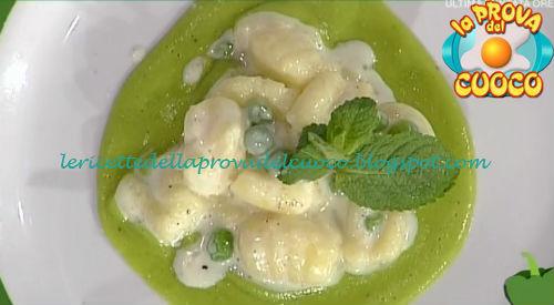 Gnocchi con crema di piselli e taleggio ricetta Fava da Prova del Cuoco