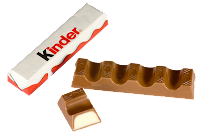 Kinder Chocolate: 120 calorias