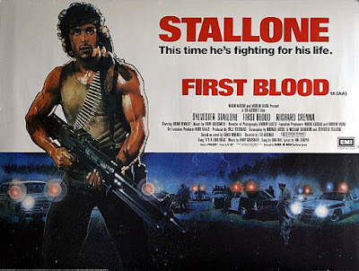 Poster Rambo Acorralado