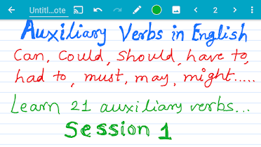 21 Auxiliary Verbs in English