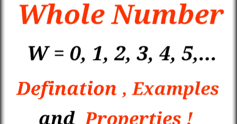 Whole Number Defination With Example And Properties In Hindi Maths Tricks In Hindi Learn Mathematic In Hindi
